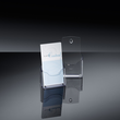 Tisch-Prospekthalter 1x DIN Lang 30mm glasklar Acryl Sigel LH113 Produktbild Additional View 5 S