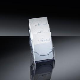 Tisch-Prosepkthalter 3x A5 je 30mm glasklar Acryl Sigel LH132 Produktbild
