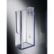 Wand-Prospekthalter 1x A4 45mm glasklar Acryl Sigel LH115 Produktbild Additional View 1 S