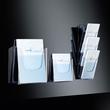 Wand-Prospekthalter 1x A4 45mm glasklar Acryl Sigel LH115 Produktbild Additional View 3 S