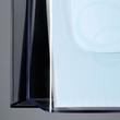 Wand-Prospekthalter 1x A4 45mm glasklar Acryl Sigel LH115 Produktbild Additional View 2 S
