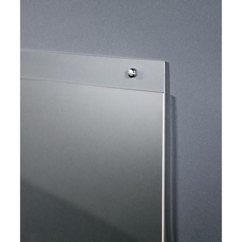 Plakattaschen mit 2 Lochbohrungen zum Aufhängen A4 glasklar Acryl Sigel TA240 Produktbild Additional View 1 L
