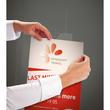 Plakattaschen mit 2 Lochbohrungen zum Aufhängen A4 glasklar Acryl Sigel TA240 Produktbild Additional View 2 S
