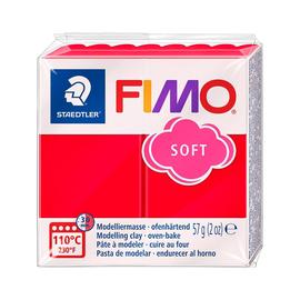 Modelliermasse FIMO Soft ofenhärtend 56g indischrot Staedtler 8020-24 Produktbild