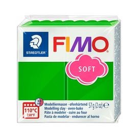 Modelliermasse FIMO Soft ofenhärtend 56g tropischgrün Staedtler 8020-53 Produktbild