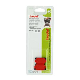 Ersatz-Stempelkissen rot Trodat 6/4910 Blisterpackung (PACK=2 STÜCK) Produktbild