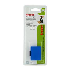 Ersatz-Stempelkissen blau Trodat 6/50 Blisterpackung (PACK=2 STÜCK) Produktbild
