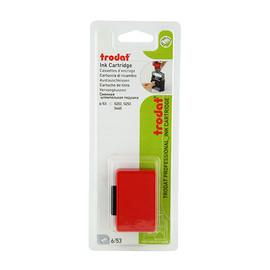 Ersatz-Stempelkissen rot Trodat 6/53 Blisterpackung (PACK=2 STÜCK) Produktbild