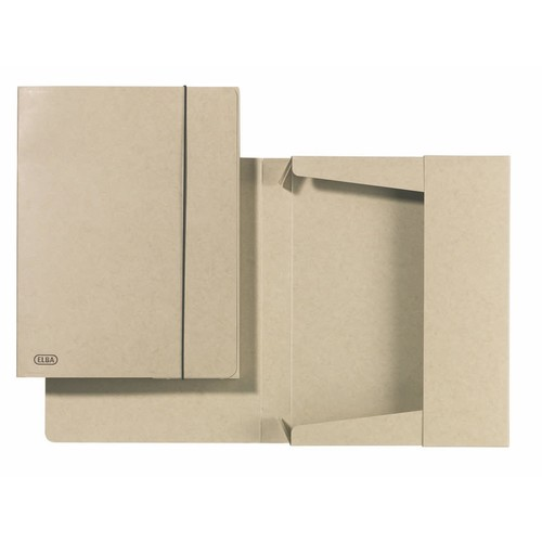 Sammelbox Touareg A4 250x35x330mm für 350Blatt beige TCF-Karton Elba 100200413 Produktbild Additional View 2 L