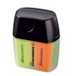 Textmarker Boss 07 Mini Box 2-5mm Keilspitze gelb/blau/grün/orange Box Stabilo 07/04-01 (PACK=4 STÜCK) Produktbild Additional View 1 S
