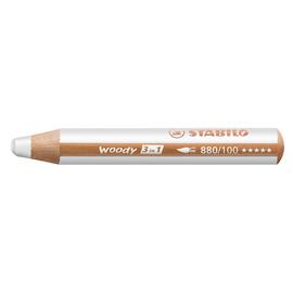Multitalent-Stift woody 3 in 1 weiß 10mm Mine Stabilo 880/100 Produktbild