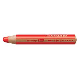 Multitalent-Stift woody 3 in 1 stabilorot 10mm Mine Stabilo 880/310 Produktbild