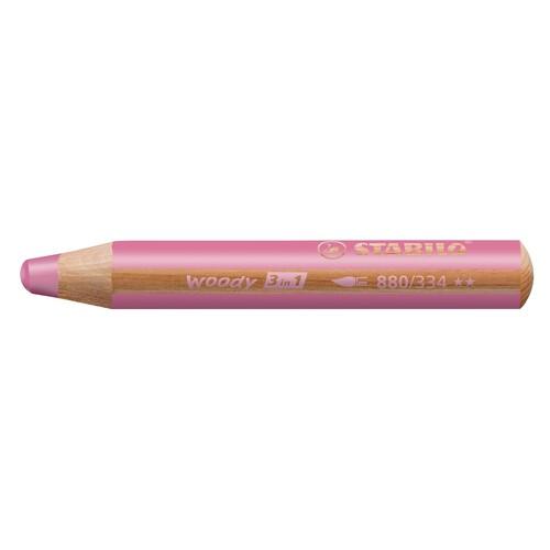 Multitalent-Stift woody 3 in 1 pink 10mm Mine Stabilo 880/334 Produktbild