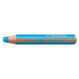 Multitalent-Stift woody 3 in 1 cyanblau 10mm Mine Stabilo 880/450 Produktbild
