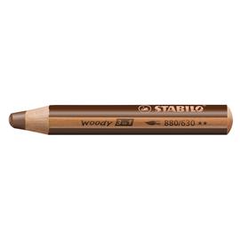 Multitalent-Stift woody 3 in 1 braun 10mm Mine Stabilo 880/630 Produktbild