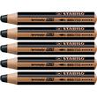 Multitalent-Stift woody 3 in 1 schwarz 10mm Mine Stabilo 880/750 Produktbild Additional View 1 S