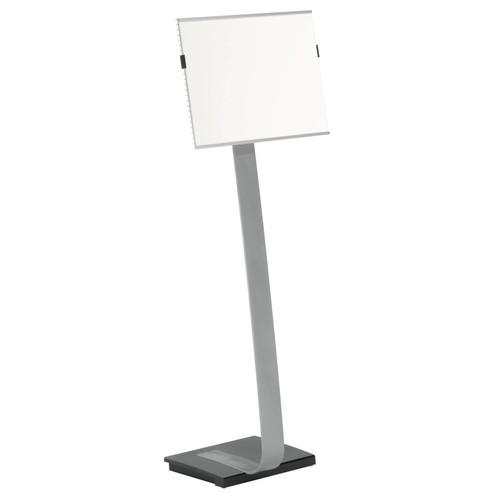 Bodenständer INFO SIGN STAND A3 125cm silber/Acryl Aluminium Durable 4813-23 Produktbild