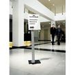 Bodenständer INFO SIGN STAND A3 125cm silber/Acryl Aluminium Durable 4813-23 Produktbild Additional View 1 S