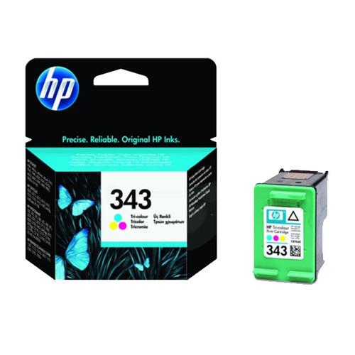 Tintenpatrone 343 für HP DeskJet 460C/5740/6620 7ml farbig HP C8766EE Produktbild Front View L