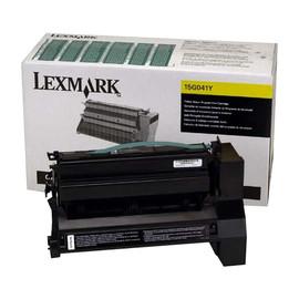 Toner für Optra C752/C760/E762 6000Seiten yellow Lexmark 15G041Y Produktbild