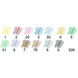 Fasermaler Noris Club 326 1,0mm grün Staedtler 326-5 Produktbild Additional View 4 S