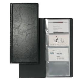 Visitenkartenalbum Visifix 128 115x253mm für 128Karten schwarz Durable 2308-01 Produktbild