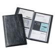Visitenkartenalbum Visifix 72 115x195mm für 72Karten schwarz Durable 2400-01 Produktbild