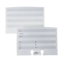Visitenkarten Erweiterungssatz für Telindex weiß Durable 2419-02 (PACK=100 STÜCK) Produktbild