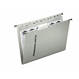 Personalakte seitlich offen 5 Fächer +Register grau Leitz 30041-00-85 Produktbild