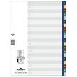 Register A-Z A4 230x297mm mehrfarbig Plastik Durable 6755-27 Produktbild