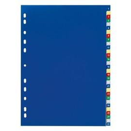 Register A4 230x297mm Zahlen 1-31 mehrfarbig Plastik Durable 6756-27 Produktbild