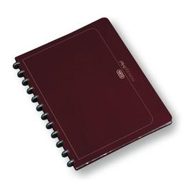 Ringmappe Oxford manageMe! vario-zipp A4 m. 25Hüllen bordeaux PP erweiterbar 100205609 Produktbild