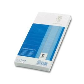 Briefumschlag Gohrsmühle ohne Fenster mit Seidenfutter DIN lang 110x220mm nassklebend 80g hochweiß 43512 (PACK=25 STÜCK) Produktbild