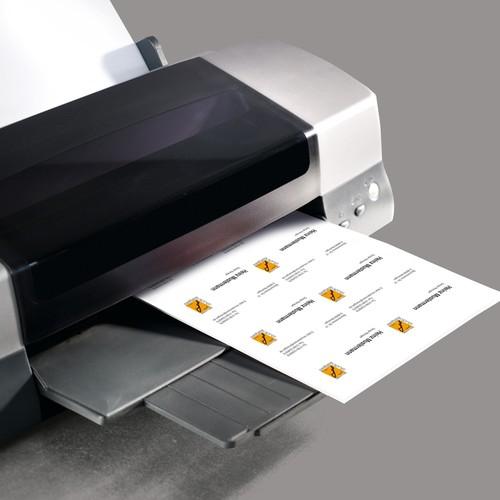 Visitenkarten Inkjet+Laser+Kopier 85x55mm 250g weiß beidseitig bedruckbar glatte Kanten Sigel LP853 (PACK=100 STÜCK) Produktbild Additional View 1 L