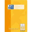 Vokabelheft Oxford A4 liniert 4 Farben sortiert 2 Spalten 32Blatt 90g Optik Paper weiß 100050336 Produktbild Additional View 1 S