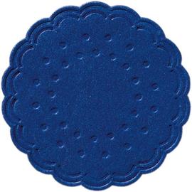 Tassendeckchen Premium ø 7,5cm darkblue Tissue Duni 351881 (PACK=25 STÜCK) Produktbild