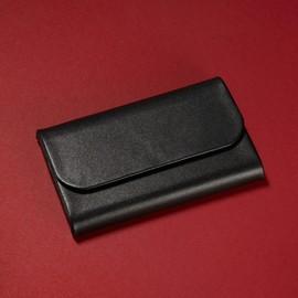 Visitenkartenetui Torino mit Magnetverschluss für 25Karten schwarz Leder Sigel VZ270 Produktbild