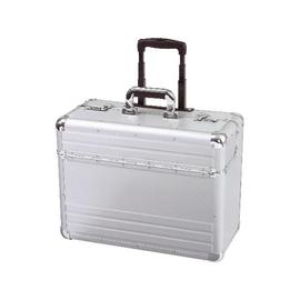 Pilotenkoffer mit Trolleysystem OMEGA 48x38x23cm silber Aluminium Alumaxx 45122 Produktbild