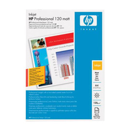 Fotopapier Inkjet Professional A4 120g weiß matt HP Q6593A (PACK=200 BLATT) Produktbild