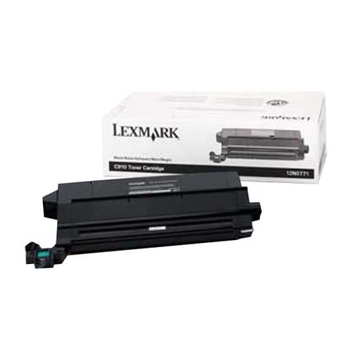 Toner für Optra C910/C912/X912 14000Seiten schwarz Lexmark 12N0771 Produktbild Front View L