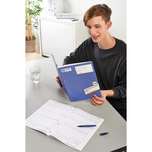 Ausbildungsnachweisbuch für wöchentliche Eintragungen A4 28Blatt Zweckform 2831 Produktbild Additional View 4 L