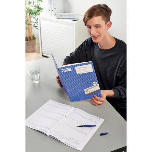 Ausbildungsnachweisbuch für wöchentliche Eintragungen A4 28Blatt Zweckform 2831 Produktbild Additional View 8 L