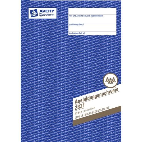 Ausbildungsnachweisbuch für wöchentliche Eintragungen A4 28Blatt Zweckform 2831 Produktbild Additional View 2 L