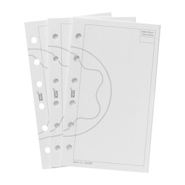 Einlagen blanko klein 50 Blatt Montblanc 6688 Produktbild