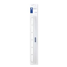 Lineal 30cm silber Aluminium Staedtler 56330 Produktbild