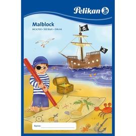 Malblock MC4/100 A4 100Blatt blau holzfrei Pelikan 137679 Produktbild