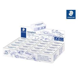 Radiergummi rasoplast 16x13x33mm weiß Kautschuk Staedtler 526B40 Produktbild