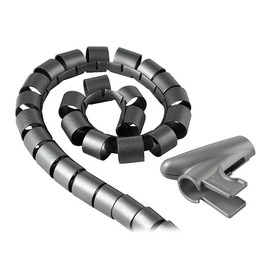 Kabelbündelschlauch Easy Cover 3cm x 150cm silber Hama 00020601 Produktbild