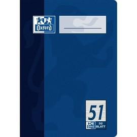 Oktavheft Oxford A6 liniert farbig sortiert 32Blatt 90g Optik Paper weiß 100050396 Produktbild