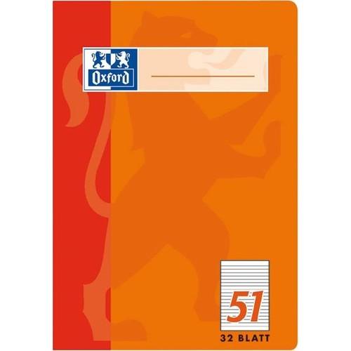 Oktavheft Oxford A6 liniert farbig sortiert 32Blatt 90g Optik Paper weiß 100050396 Produktbild Additional View 2 L